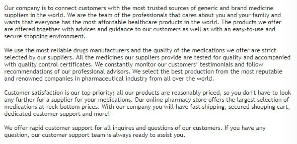 about edrugsmart online pharmacy